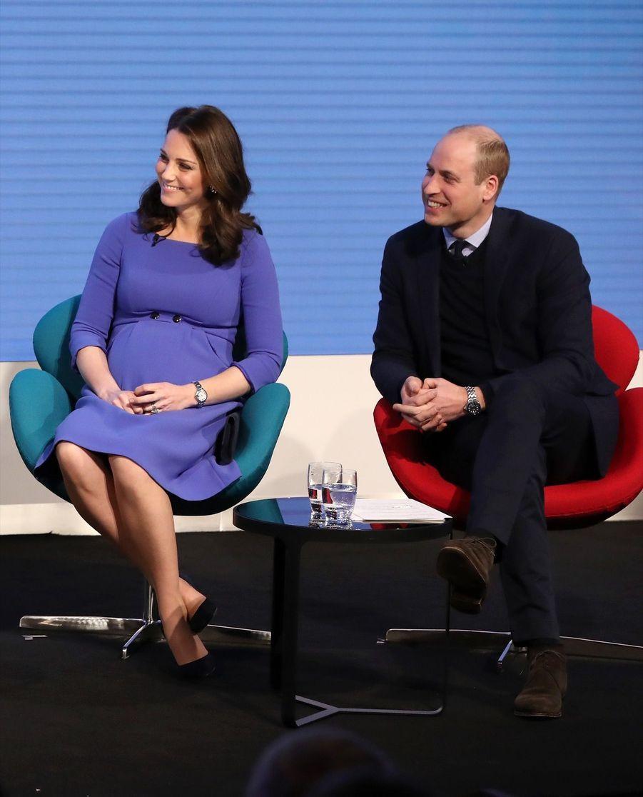 Kate Middleton, Meghan Markle, Harry Et William Lancent Le Premier Forum Annuel De Leur Royal Foundation 22