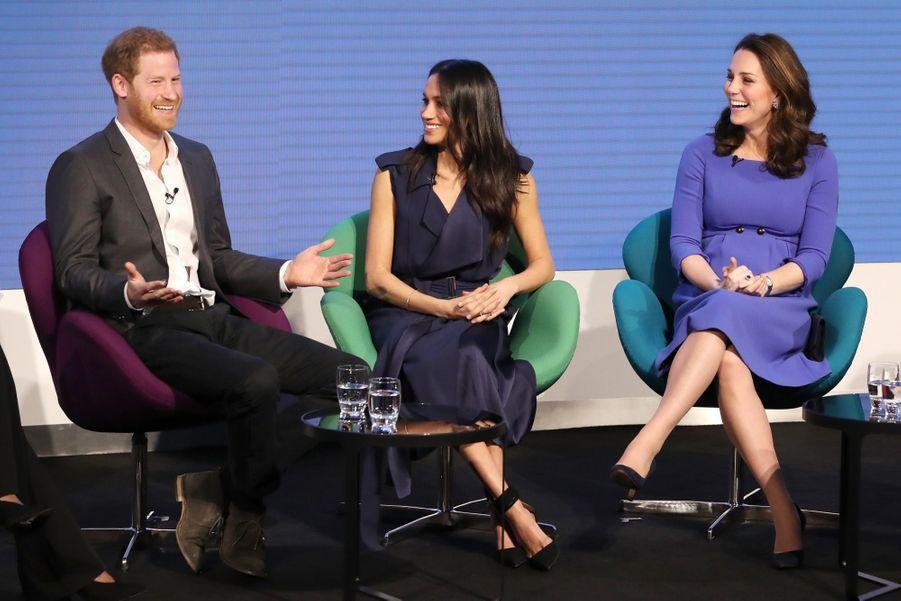 Kate Middleton, Meghan Markle, Harry Et William Lancent Le Premier Forum Annuel De Leur Royal Foundation 23