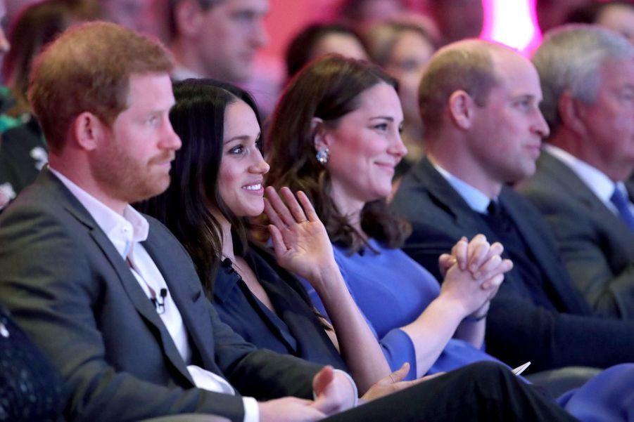 Kate Middleton, Meghan Markle, Harry Et William Lancent Le Premier Forum Annuel De Leur Royal Foundation 29