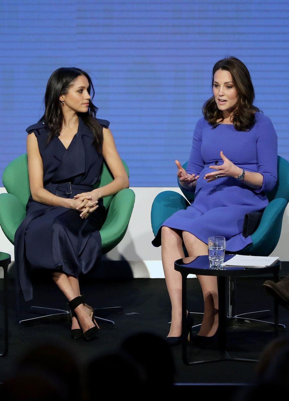 Kate Middleton, Meghan Markle, Harry Et William Lancent Le Premier Forum Annuel De Leur Royal Foundation 3