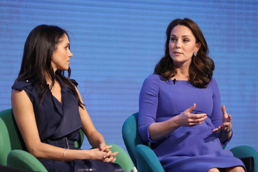 Kate Middleton, Meghan Markle, Harry Et William Lancent Le Premier Forum Annuel De Leur Royal Foundation 4