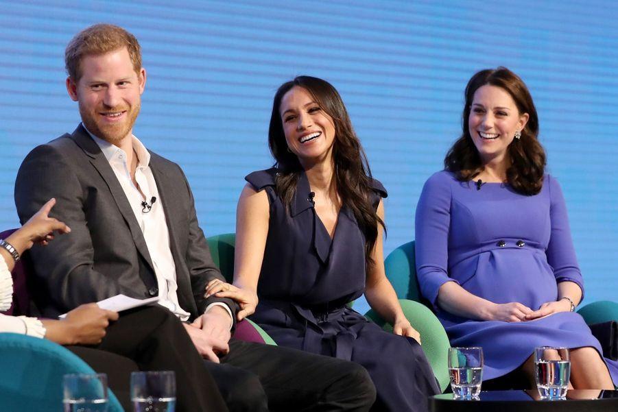 Kate Middleton, Meghan Markle, Harry Et William Lancent Le Premier Forum Annuel De Leur Royal Foundation 44