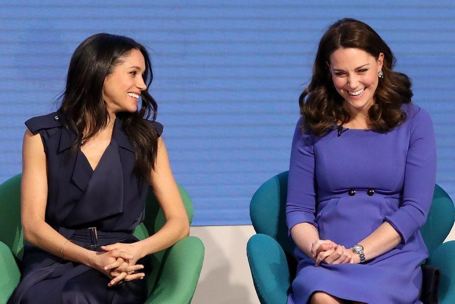 Kate Middleton, Meghan Markle, Harry Et William Lancent Le Premier Forum Annuel De Leur Royal Foundation 45