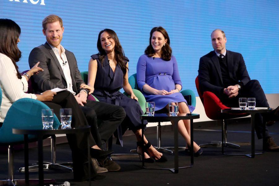 Kate Middleton, Meghan Markle, Harry Et William Lancent Le Premier Forum Annuel De Leur Royal Foundation 5