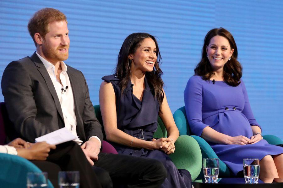 Kate Middleton, Meghan Markle, Harry Et William Lancent Le Premier Forum Annuel De Leur Royal Foundation 6