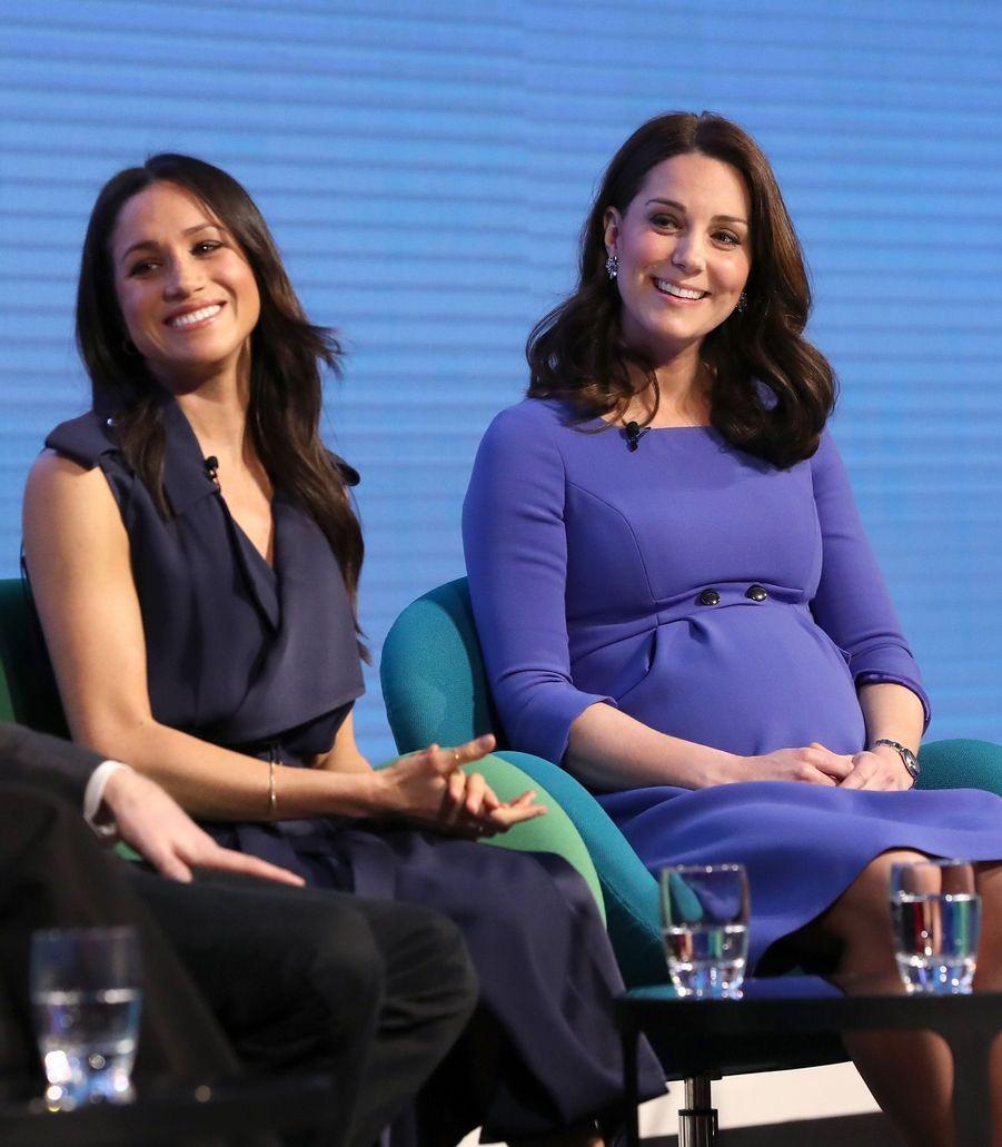 Kate Middleton, Meghan Markle, Harry Et William Lancent Le Premier Forum Annuel De Leur Royal Foundation 9