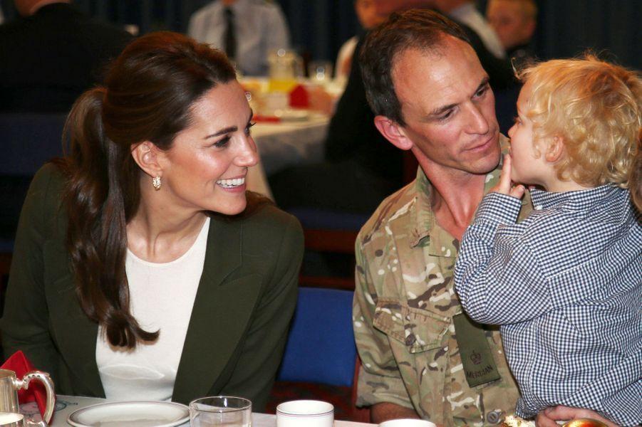 La duchesse Catherine de Cambridge à Chypre, le 5 décembre 2018