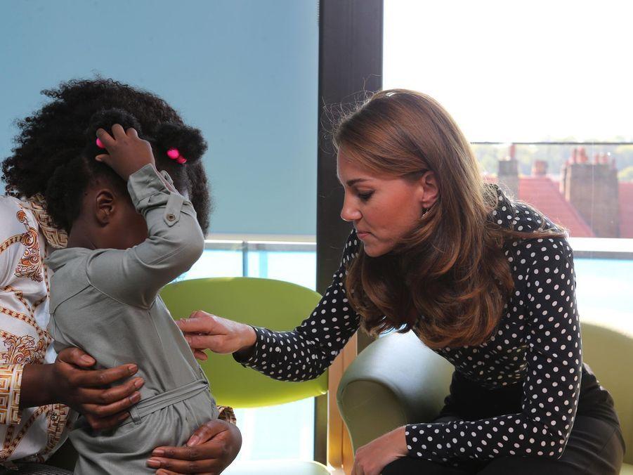 Kate Middleton au centre de santé et de développement de Sunshine House pour enfants et adolescents