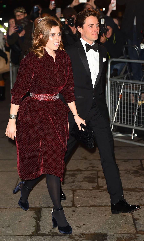 La princesse Beatrice et son petit ami