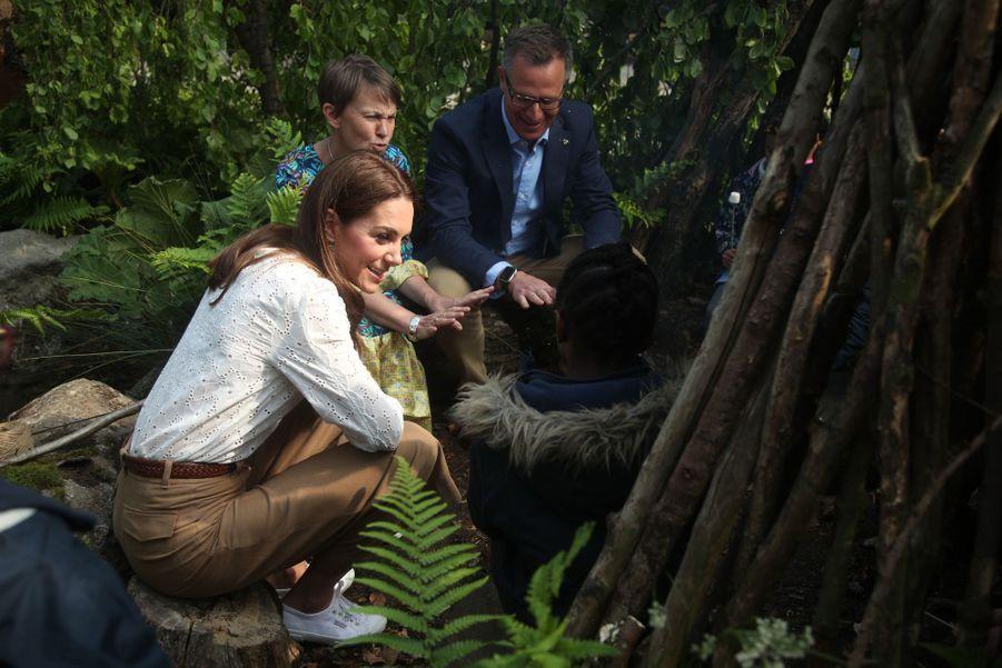 Kate Middleton au«Chelsea Flower Show» de Londres, le 20 mai 2019