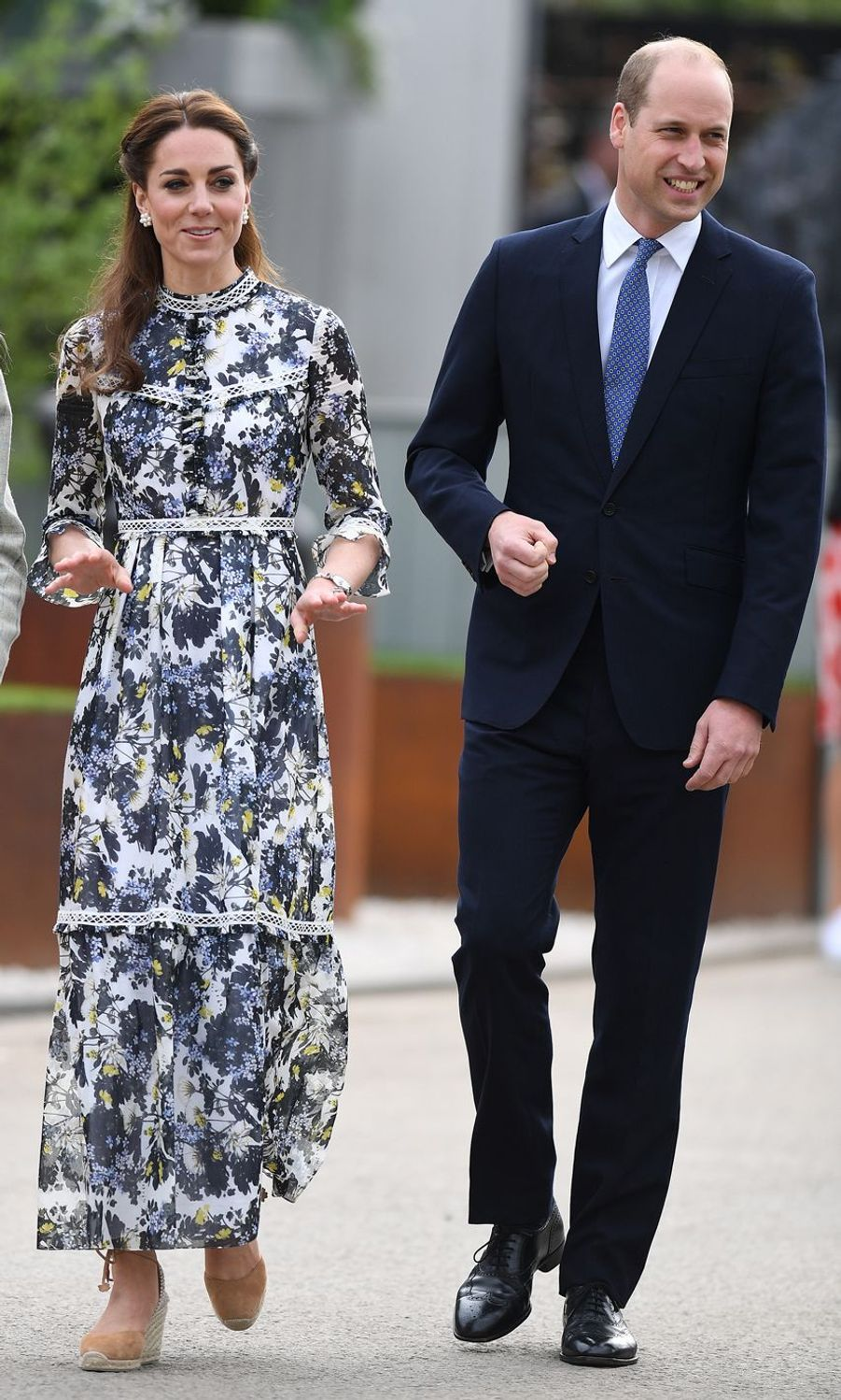 Kate Middleton et William au Chelsea Flower Show de Londres, le 20 mai 2019