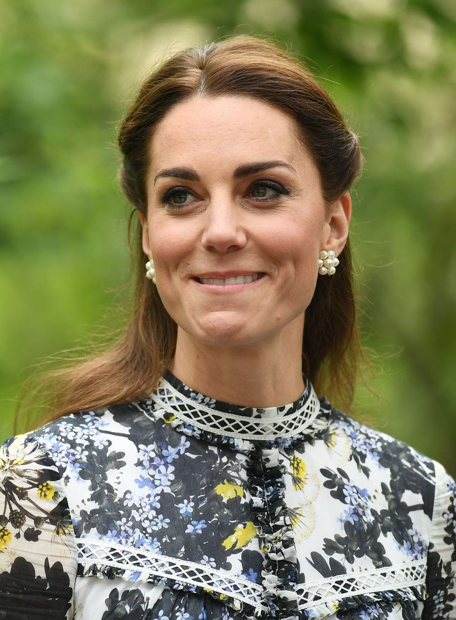 Kate Middleton au Chelsea Flower Show de Londres, le 20 mai 2019