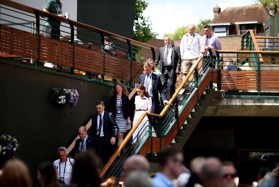 Kate Middleton à Wimbledon, le 2 juillet 2019