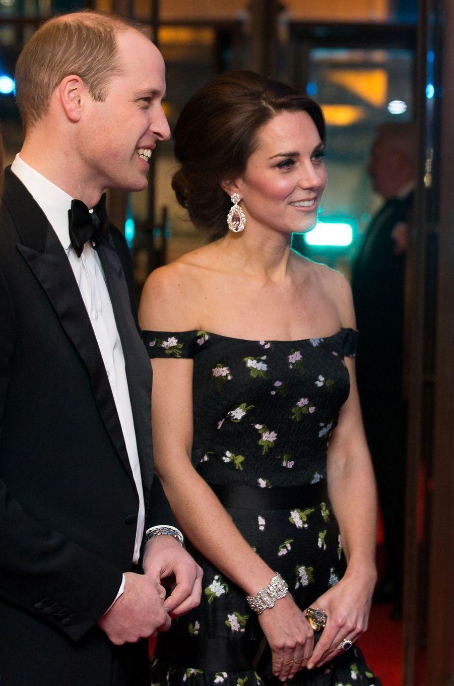 La duchesse Catherine de Cambridge le 12 février 2017