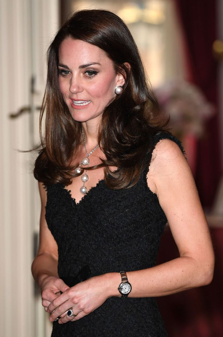 La duchesse Catherine de Cambridge le 17 mars 2017