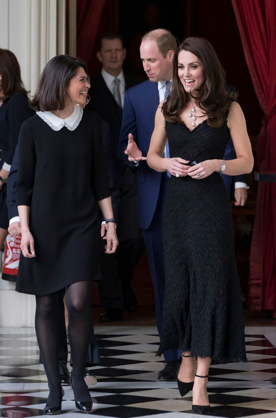 La duchesse Catherine de Cambridge le 17 mars 2017