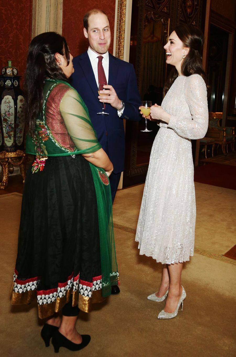 La duchesse Catherine de Cambridge le 28 février 2017
