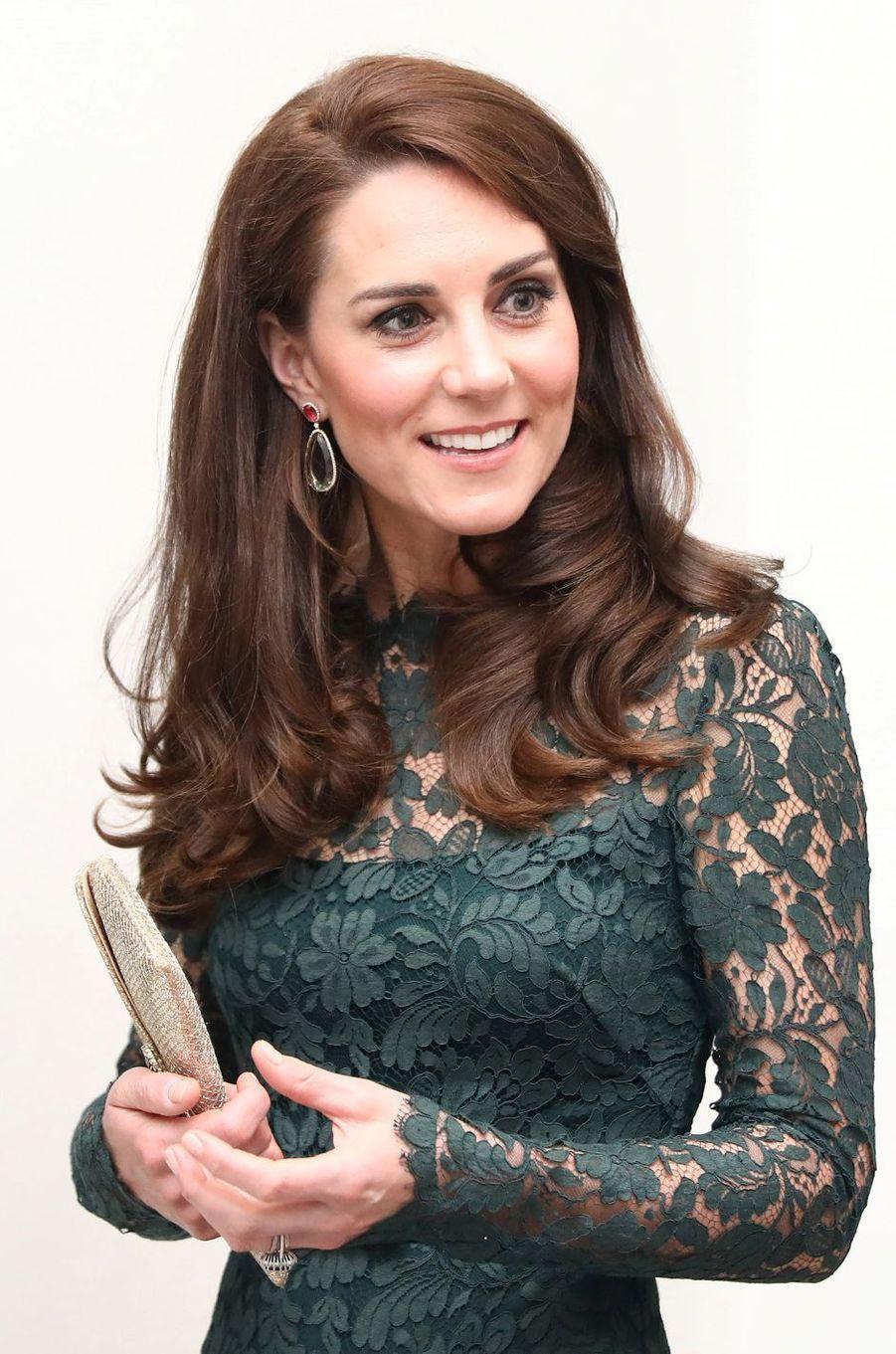 La duchesse Catherine de Cambridge le 28 mars 2017