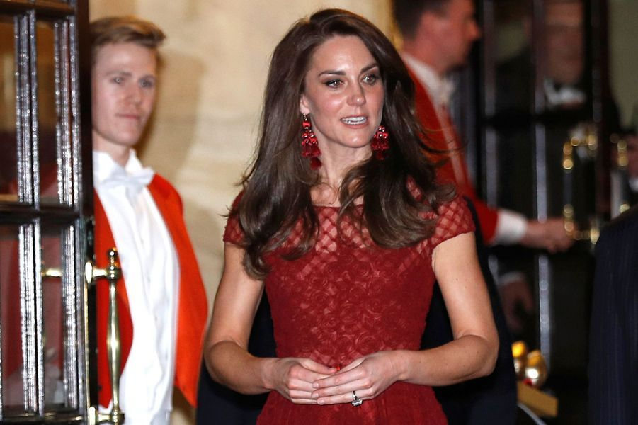 La duchesse Catherine de Cambridge le 4 avril 2017