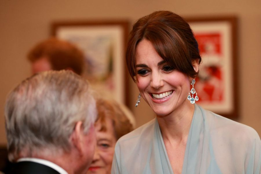 La duchesse de Cambridge Kate à Londres, le 26 octobre 2015