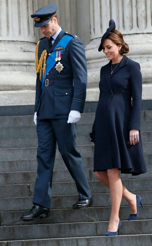 La duchesse de Cambridge, née Kate Middleton, à la Cathédrale St Paul, le 13 mars 2015
