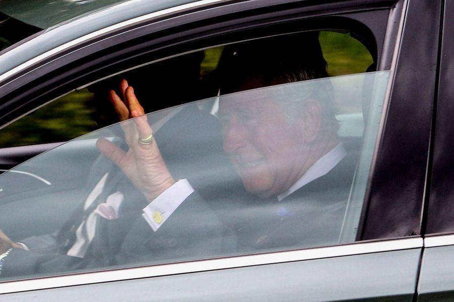 Le prince Charles à Crathie en Ecosse, le 26 août 2018