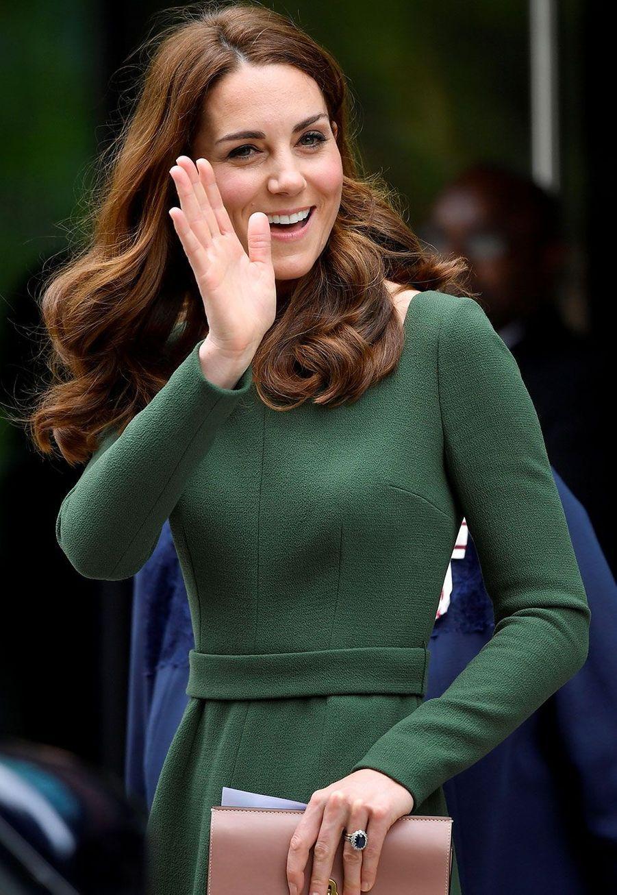 Kate Middleton à son départ duAnna Freud National Centre for Children and Families, mercredi à Londres
