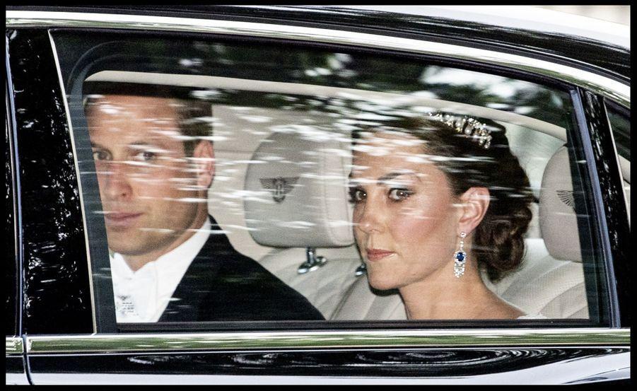Kate Middleton et William au palais de Buckingham, le 3 juin 2019
