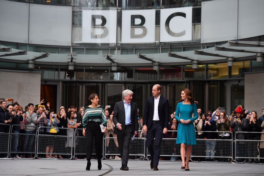 Kate Et William Au Siège De La BBC ( 10
