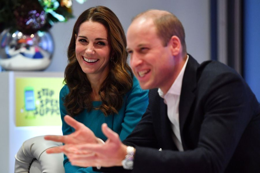 Kate Et William Au Siège De La BBC ( 17