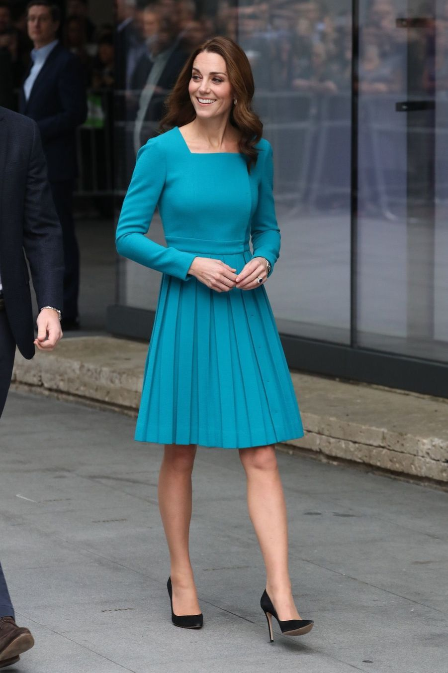 Kate Et William Au Siège De La BBC ( 2