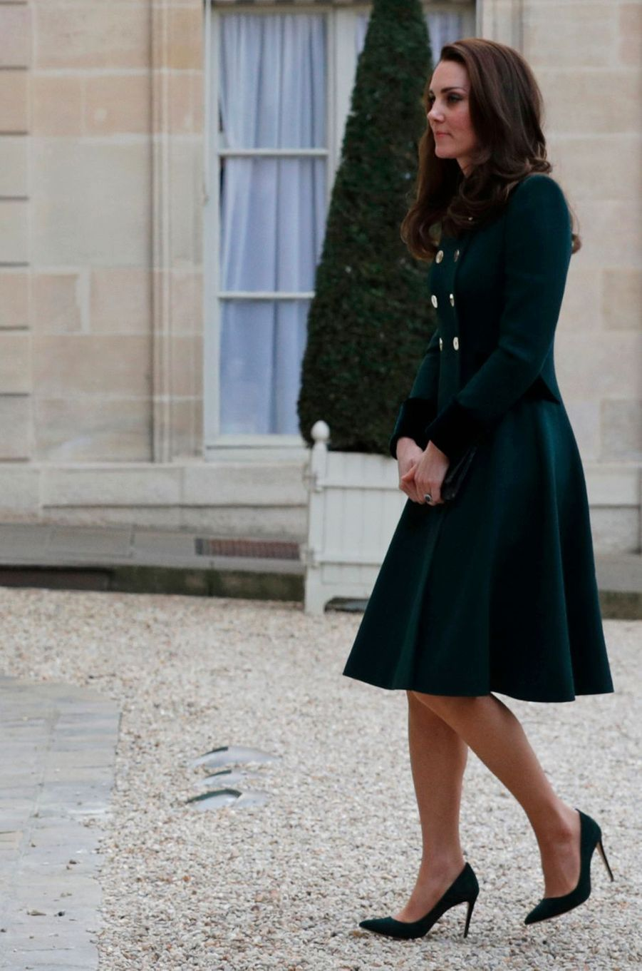 La duchesse de Cambridge à Paris le 17 mars 2017