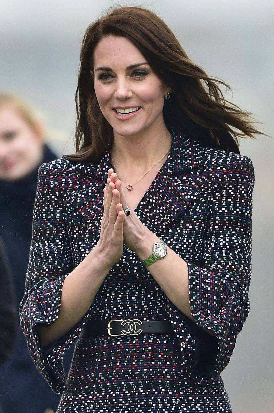 La duchesse de Cambridge, née Kate Middleton, à Paris le 18 mars 2017