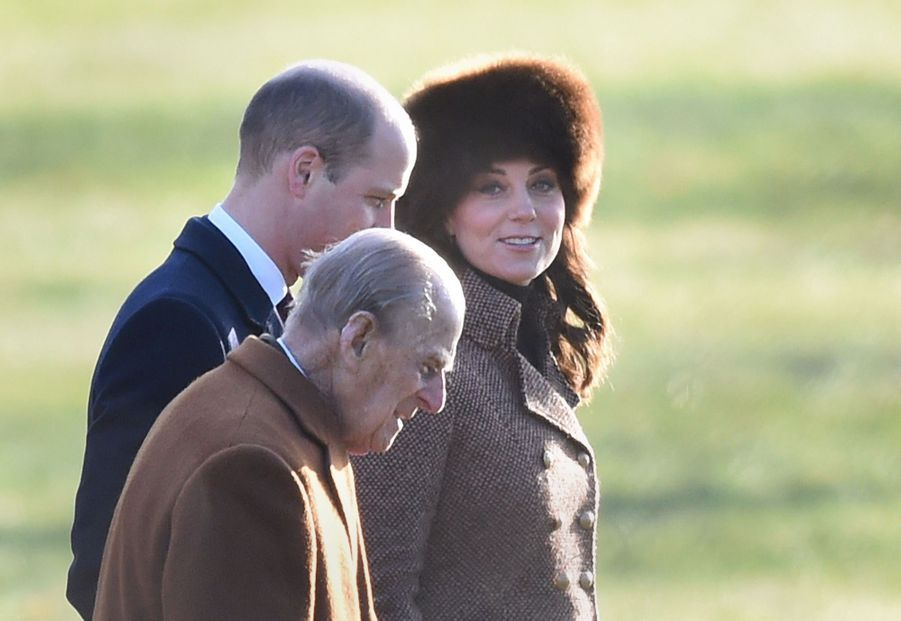 Kate Middleton, Une Messe À Sandringham Avec La Reine, Philip, William Et Pippa 2