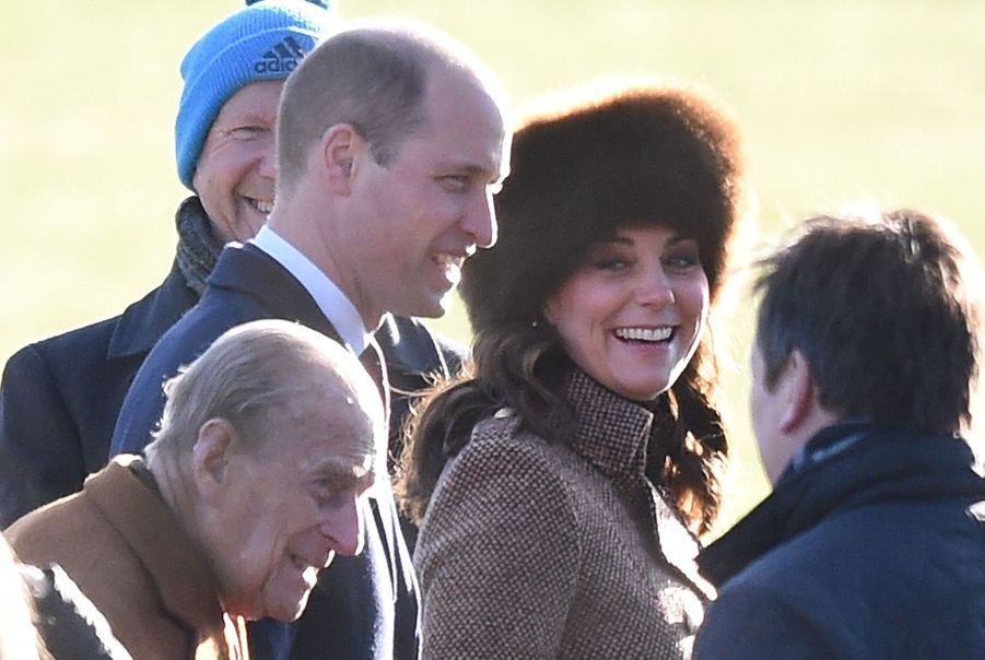 Kate Middleton, Une Messe À Sandringham Avec La Reine, Philip, William Et Pippa 6