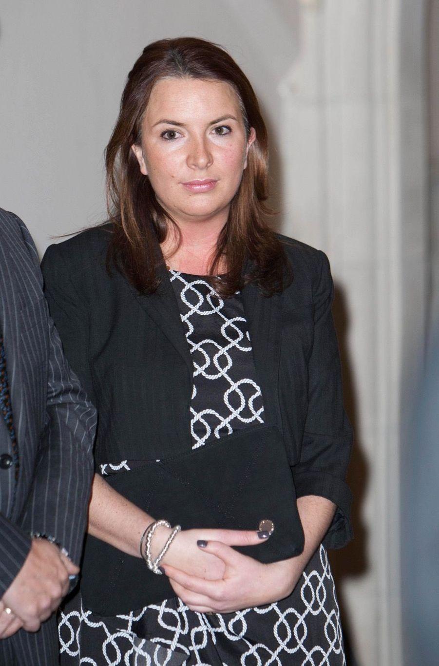 Rebecca Deacon en février 2012