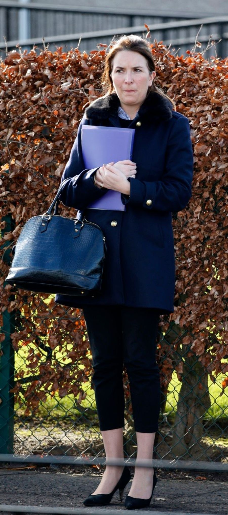 Rebecca Deacon en février 2016.