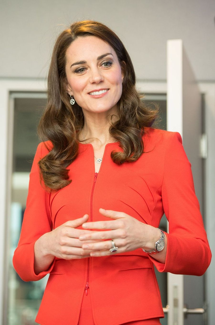 La duchesse de Cambridge, née Kate Middleton, à Londres le 20 avril 2017