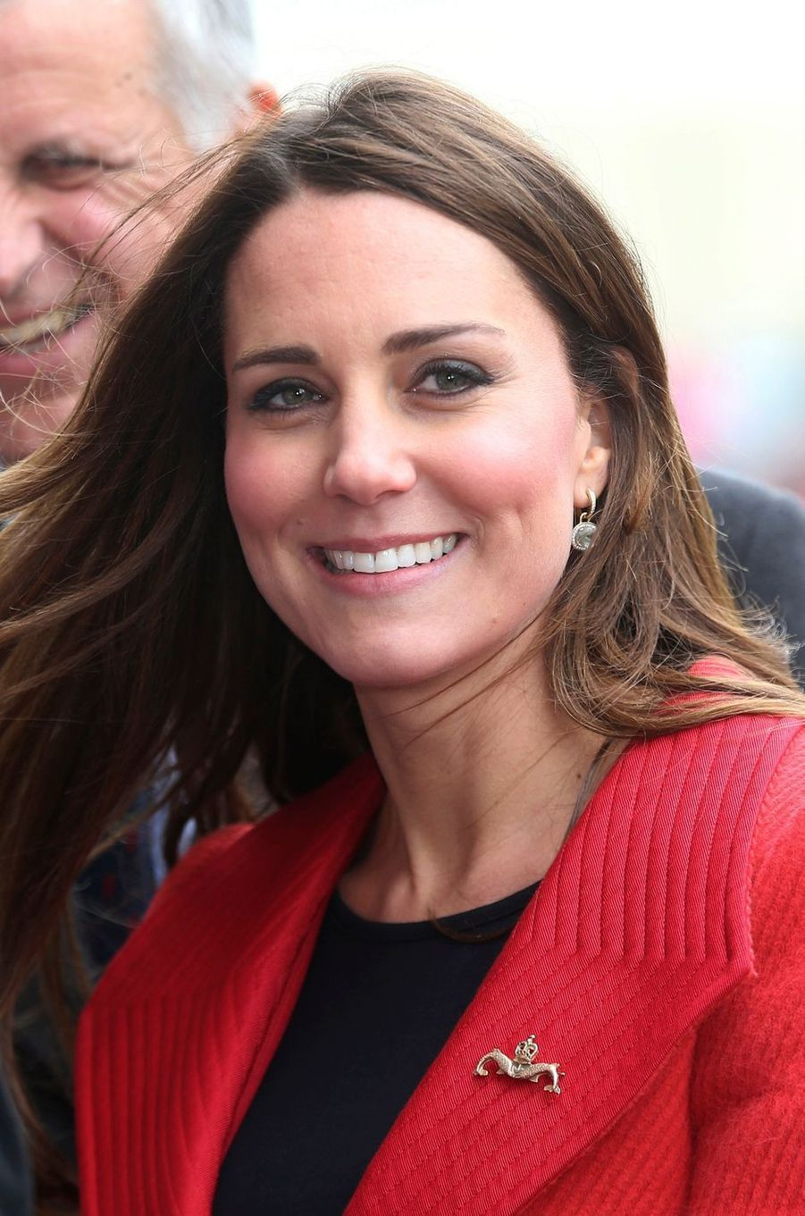 La duchesse de Cambridge, née Kate Middleton, à Barrow-in-Furness le 5 avril 2013