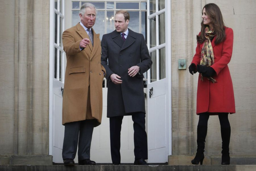 La duchesse de Cambridge, née Kate Middleton, dans le comté d'Ayrshire le 5 avril 2013
