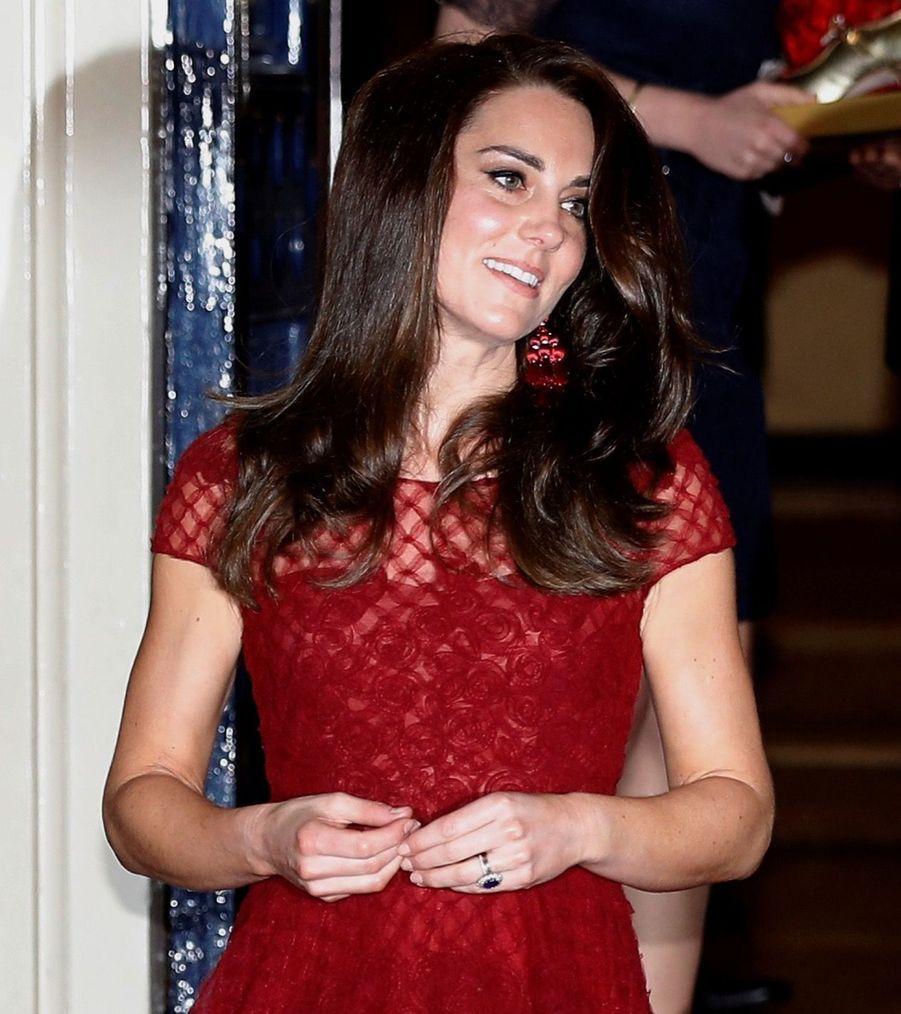 Kate Middleton Au Theatre Royal Drury Lane De Londres Mardi 4 Avril 2017 14