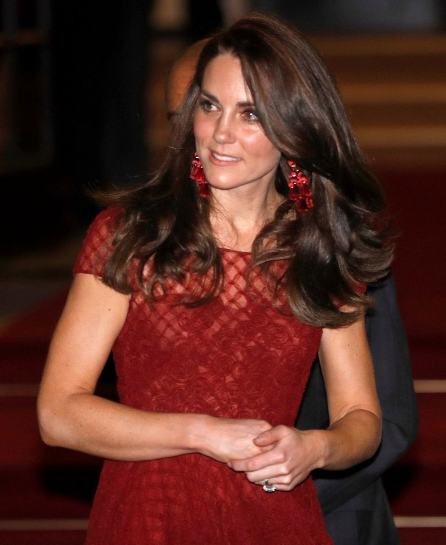 Kate Middleton Au Theatre Royal Drury Lane De Londres Mardi 4 Avril 2017 16