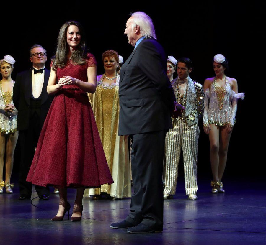 Kate Middleton Au Theatre Royal Drury Lane De Londres Mardi 4 Avril 2017 18