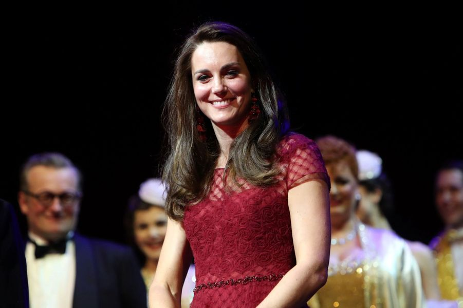 Kate Middleton Au Theatre Royal Drury Lane De Londres Mardi 4 Avril 2017 19
