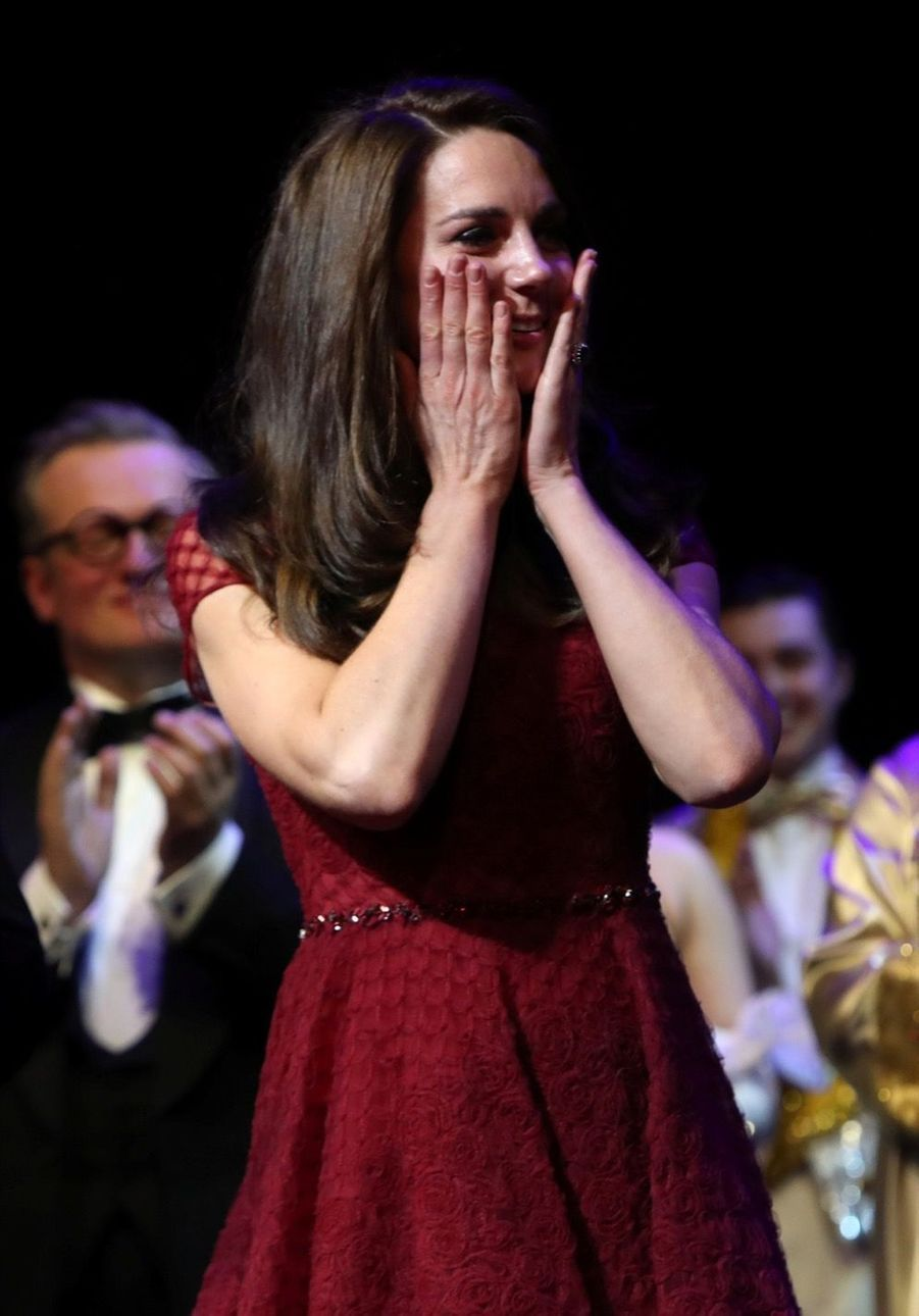 Kate Middleton Au Theatre Royal Drury Lane De Londres Mardi 4 Avril 2017 21