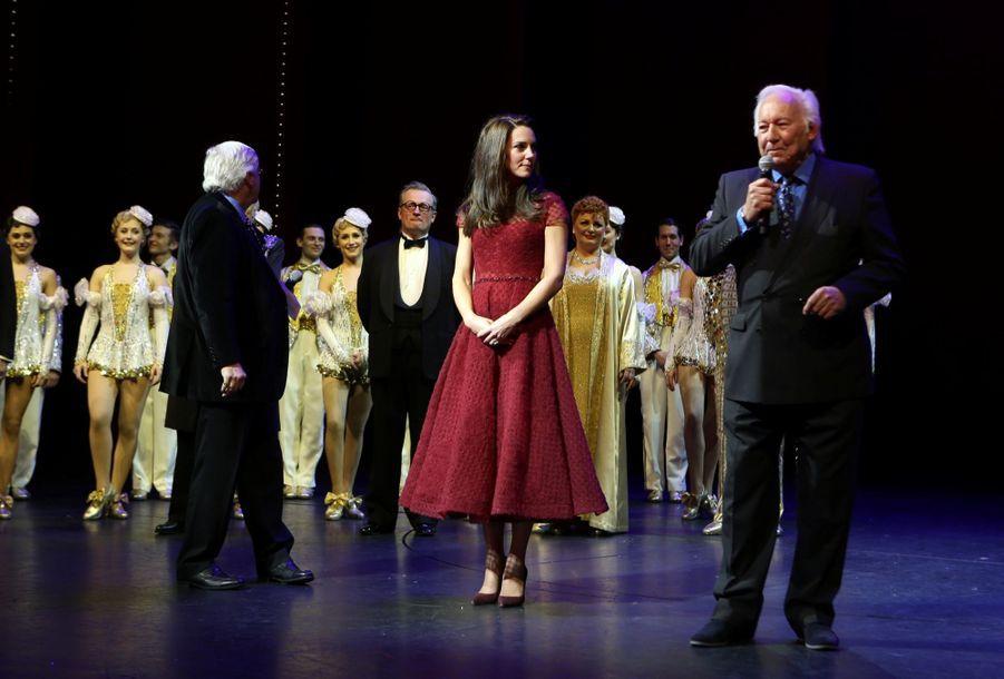Kate Middleton Au Theatre Royal Drury Lane De Londres Mardi 4 Avril 2017 22
