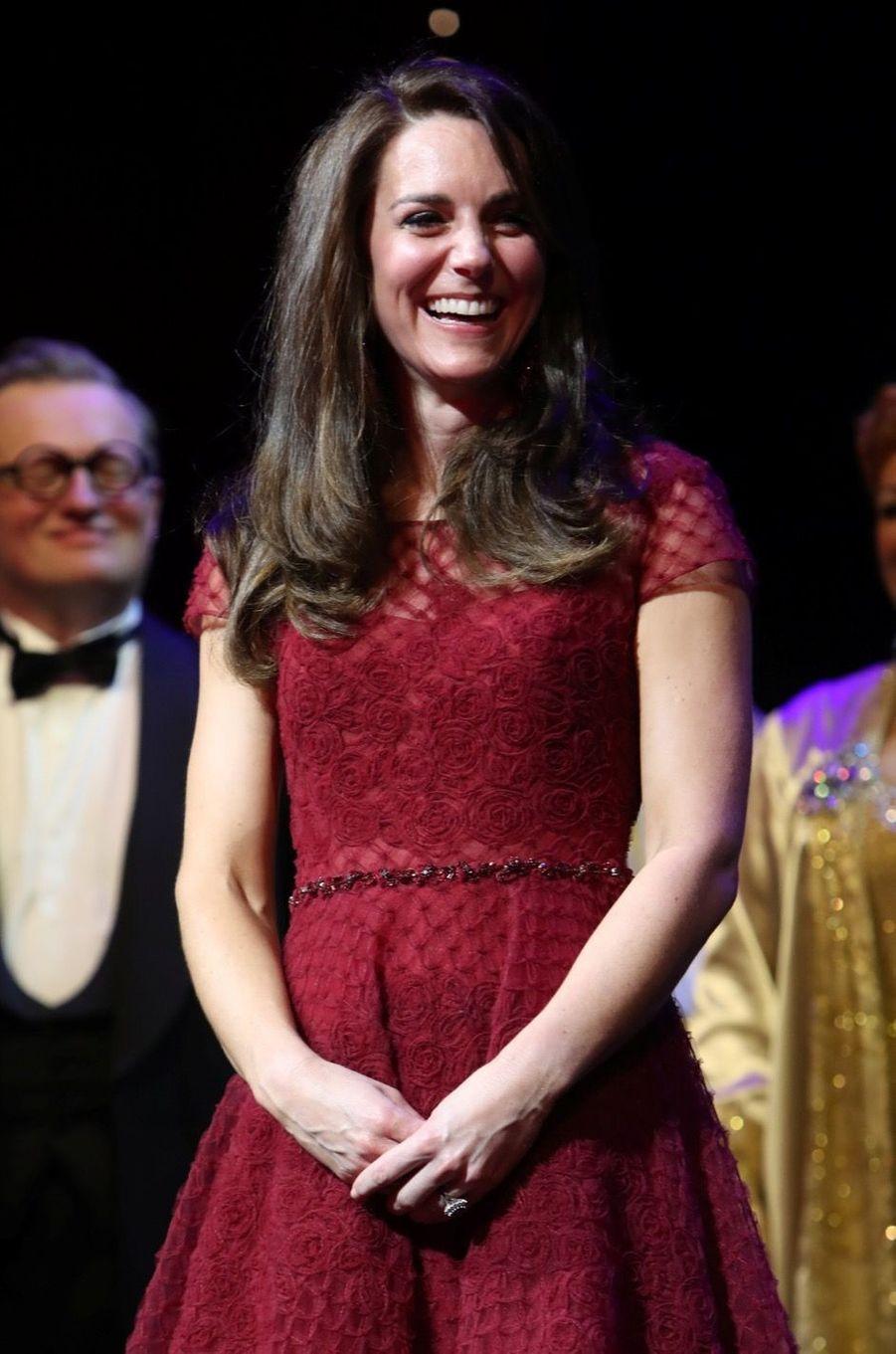 Kate Middleton Au Theatre Royal Drury Lane De Londres Mardi 4 Avril 2017 24