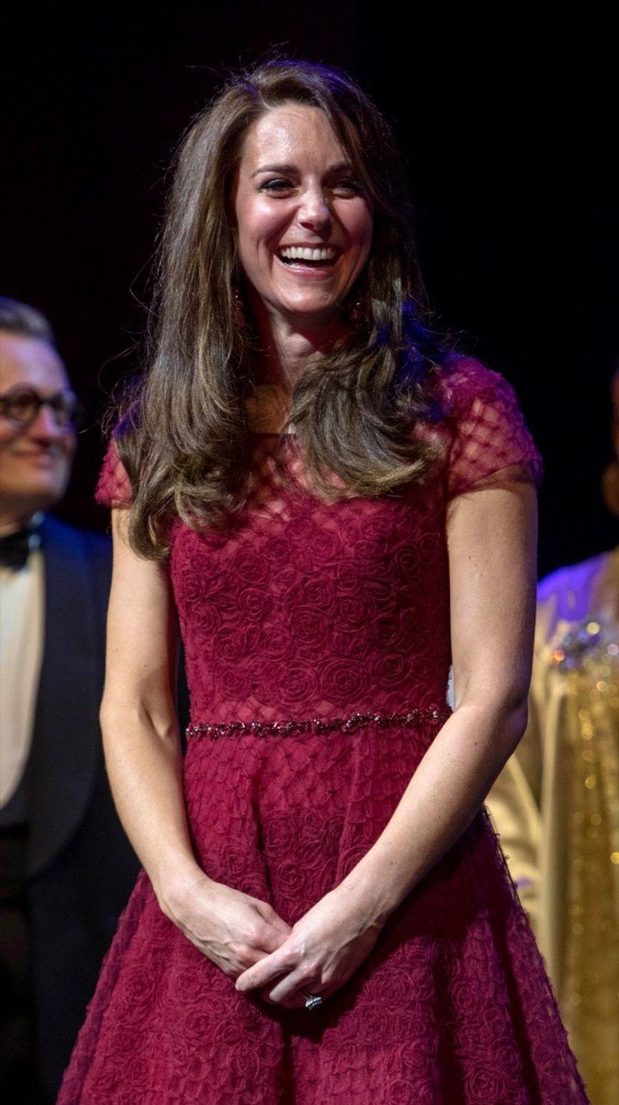 Kate Middleton Au Theatre Royal Drury Lane De Londres Mardi 4 Avril 2017 27