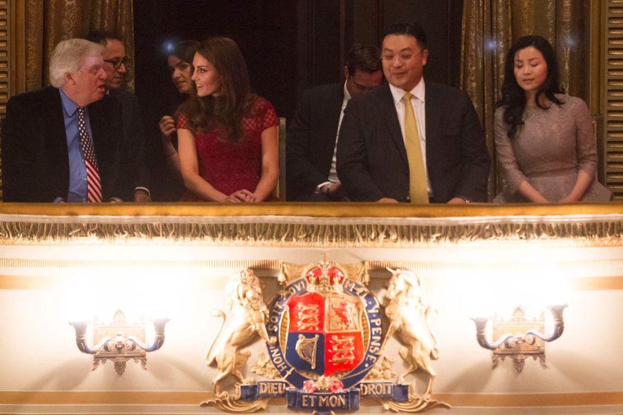 Kate Middleton Au Theatre Royal Drury Lane De Londres Mardi 4 Avril 2017 7