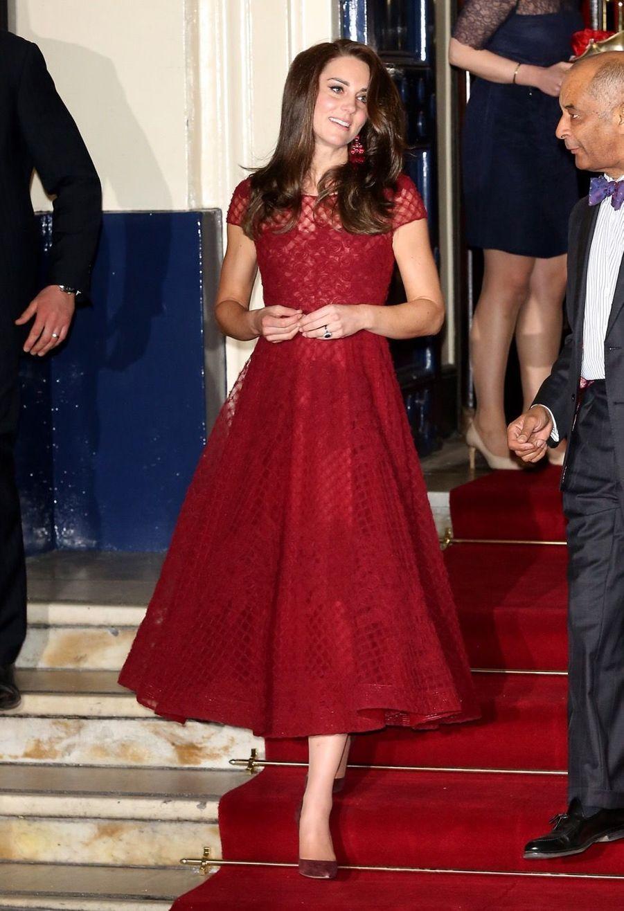 Kate Middleton Au Theatre Royal Drury Lane De Londres Mardi 4 Avril 2017 9